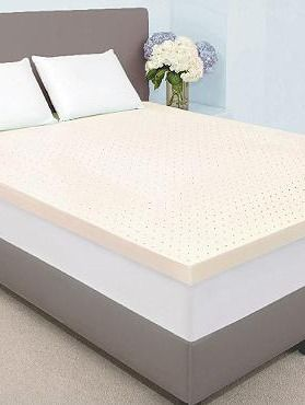 top your mattress with the high density memory foam mattress topper to turn your bed into
