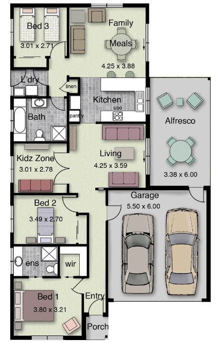 Planos de casas de 160 metros cuadrados planos de casas for Planos casas sims