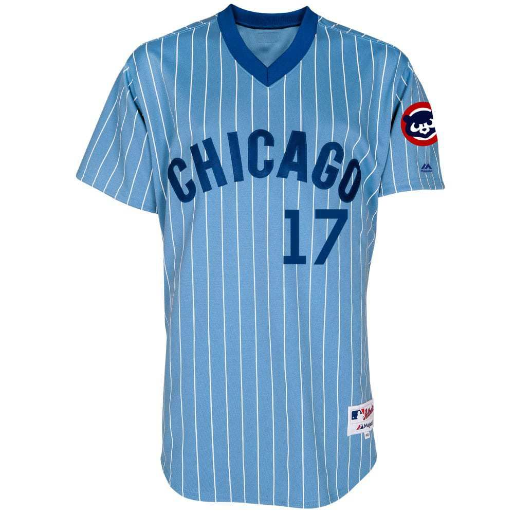 1806f906bf7 ... Major League Baseball. Kris Bryant Chicago Cubs Authentic 1981  Cooperstown Throwback Jersey  ChicagoCubs  Cubs  FlyTheW  SportsWorldChicago.com
