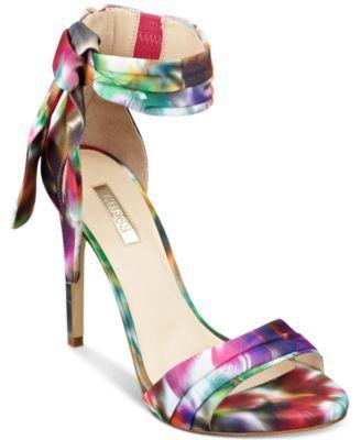 5fdd8f259 GUESS Women's Allen Dress Sandals - Pumps - Shoes - Macy's | Heels ...