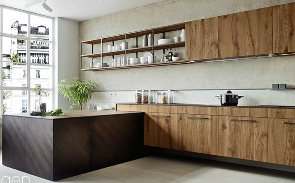 cucine moderne cucine moderne in legno con isola 1000 images about arredamento on pinterest