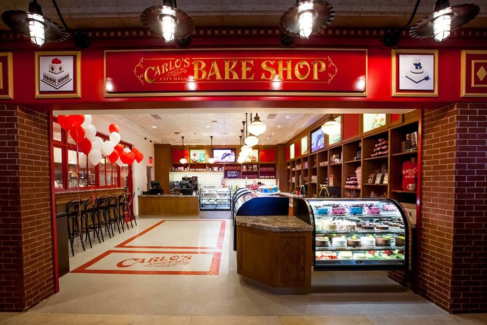 Yummy pastries!! Carlos Bake Shop The Cake