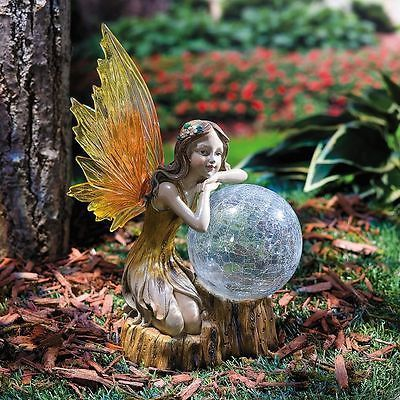Best Solar Garden Ornaments Outdoor Decor Statues Collection On Ebay