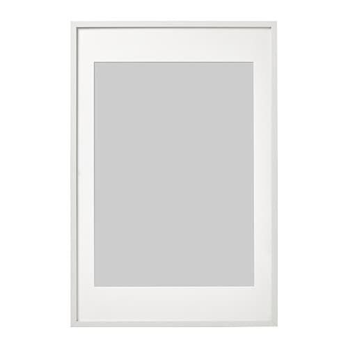 Ribba Frame White Ikea Ribba Frame Decorating With Pictures Frames On Wall