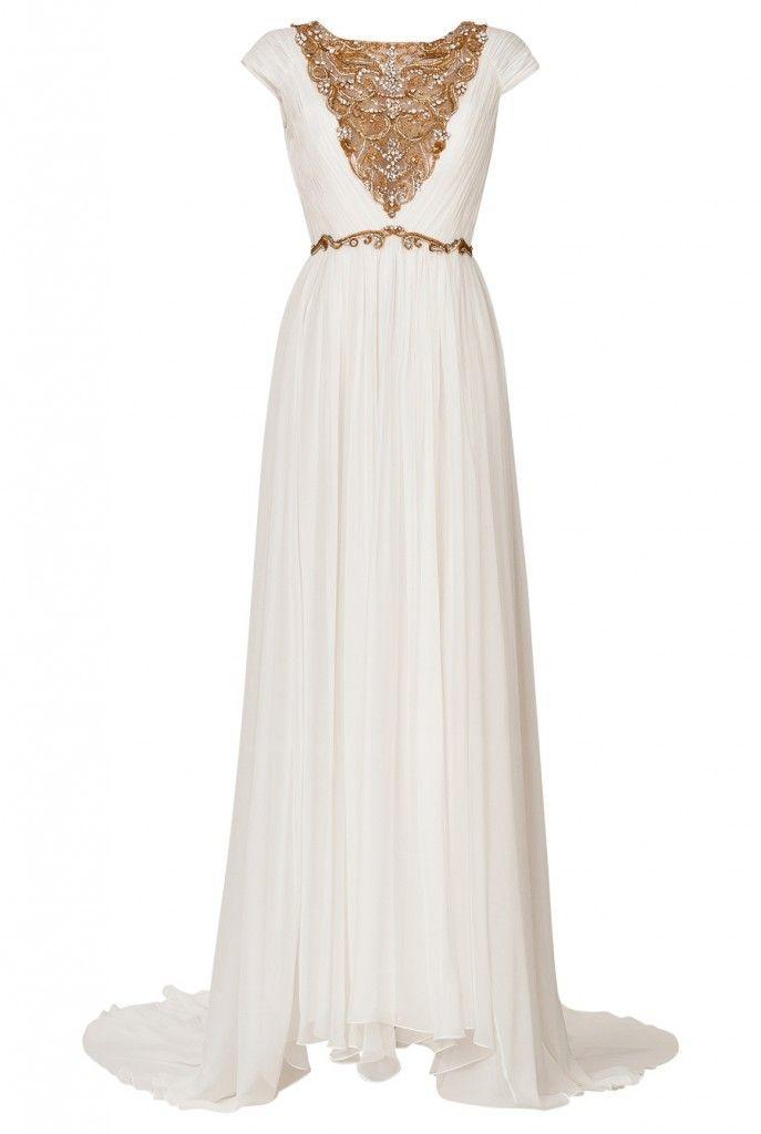 Maxi dress grecian style