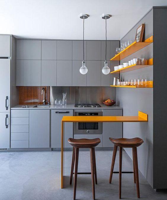 Cocinas Pequeñas 7 Consejos a Tener en Cuenta ideas minimalistas - cocinas pequeas minimalistas