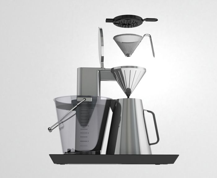 Coffee Maker Exploded : Exploded view of filter system 2 cafeteras Pinterest Exploded view and Coffee