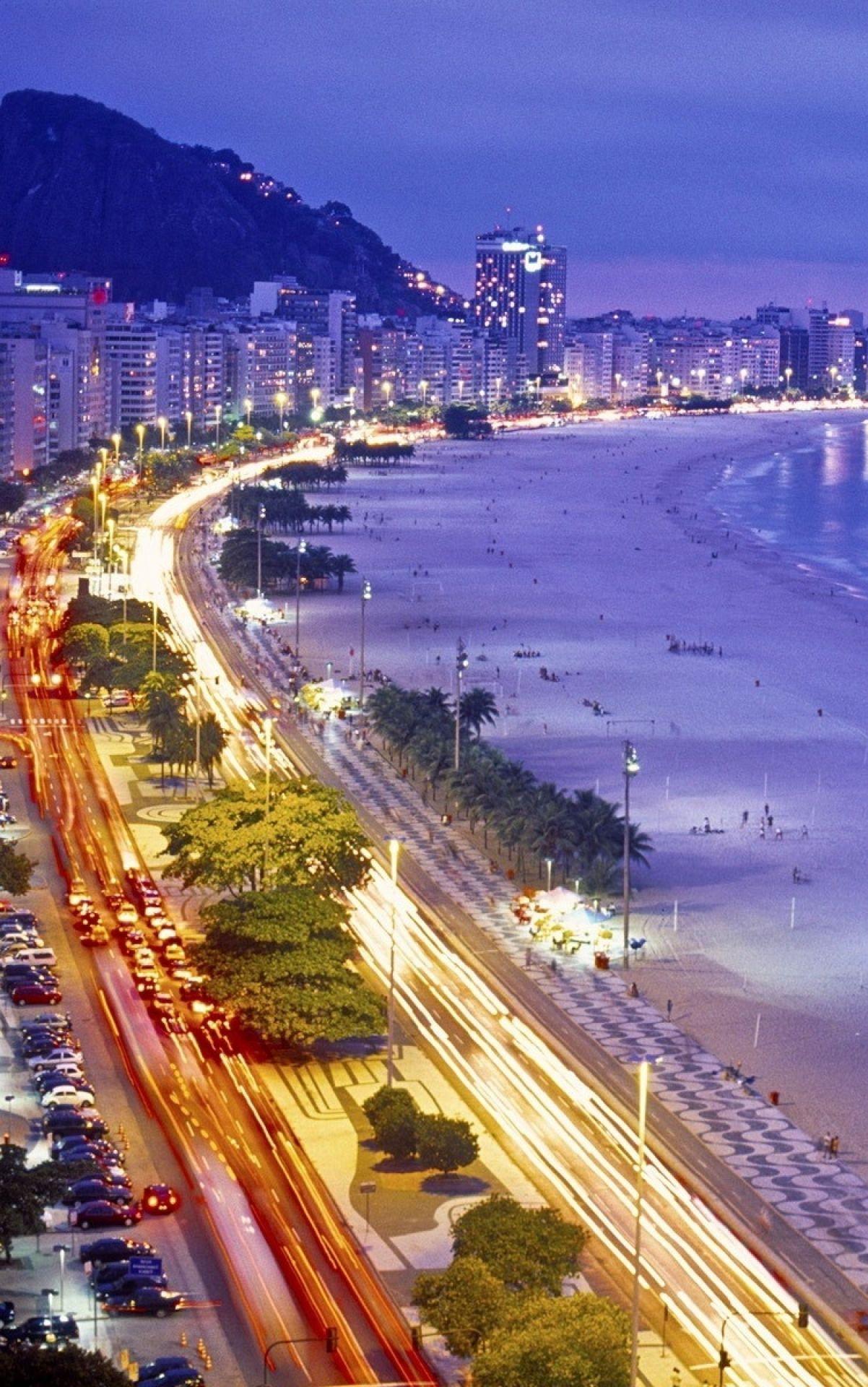 Copacabana Rio De Janeiro Rio De Janeiro Wallpaper Rio De
