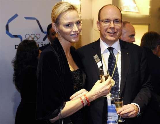 Prince Albert II and Princess Charlene in South Africa