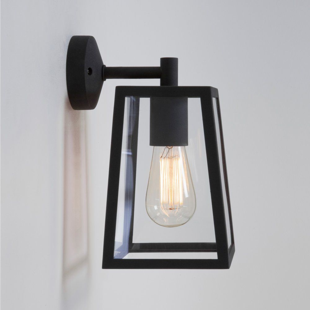 Astro Lighting 7105 Calvi Black Exterior Modern Wall Lantern | Way ... for Modern Exterior Wall Lamps  181plt