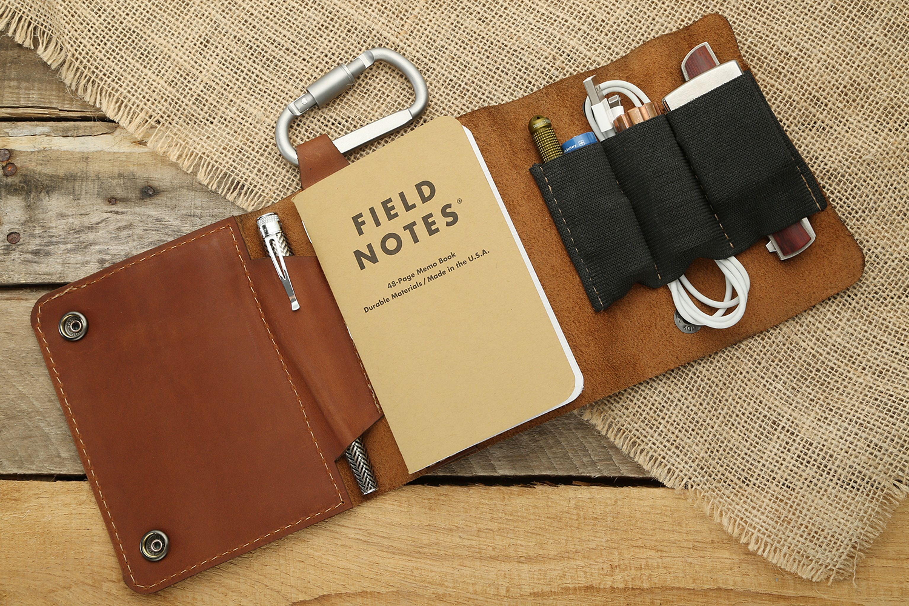 Exclusive Allegory Goods Leather Edc Pouch Edc Diy