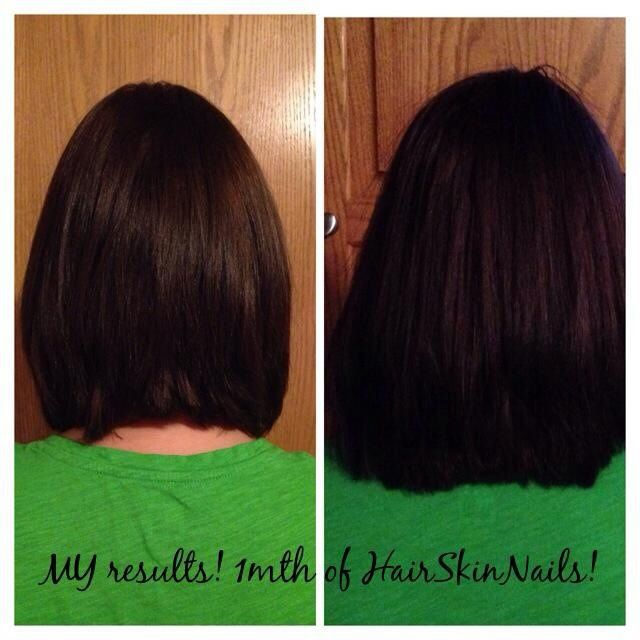 It Works! HAir Skin Nails is absolutely amazing! Add volume, length ...