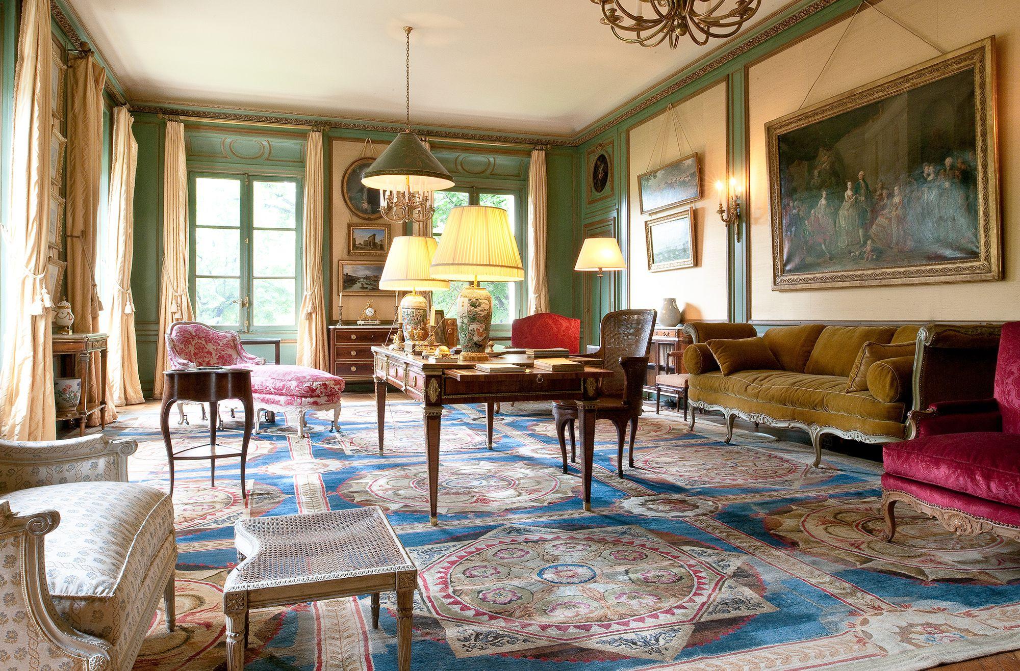 Arts décos : Le salon bleu | Beautiful Interiors | Pinterest ...