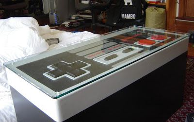 Marvelous Fully Functional NES Controller Coffee Table