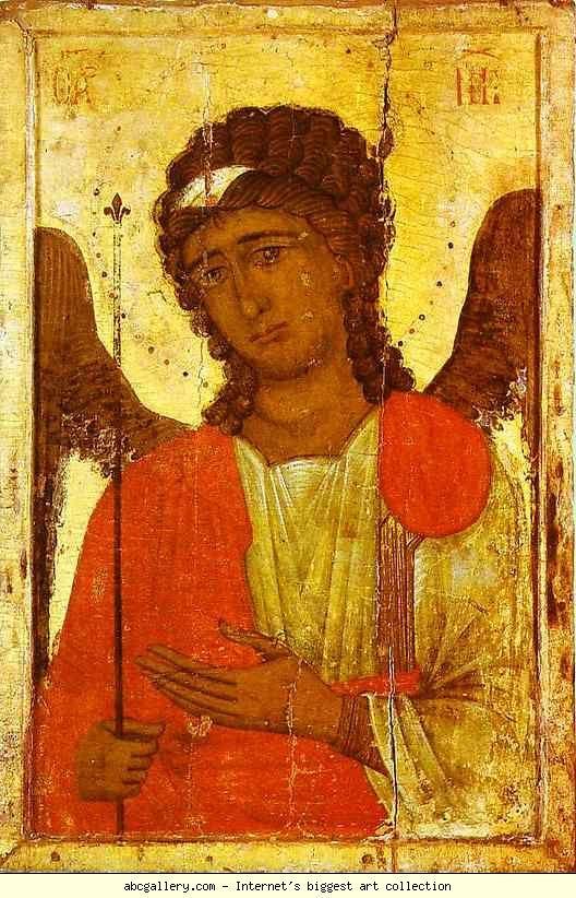 Arcangelo Michele. Icona. 66x38, 13th-14th century - dalla Cattedrale di San Giovanni Crisostomo in Cipro. Nicosia, Museo