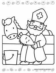 Kleurplaten Sint En Piet Peuters.Kleurplaten Sinterklaas Peuters Sinterklaas