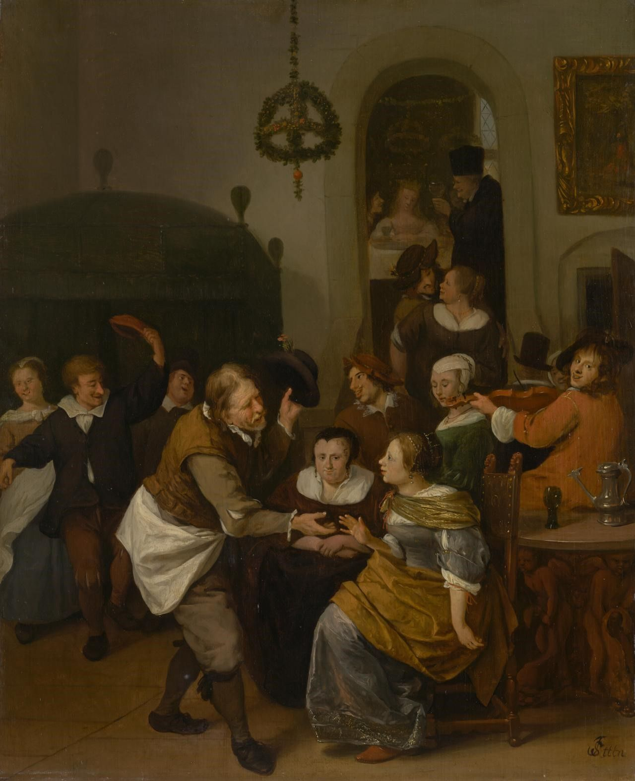 1667-1668. National Gallery of Victoria, Melbourne.