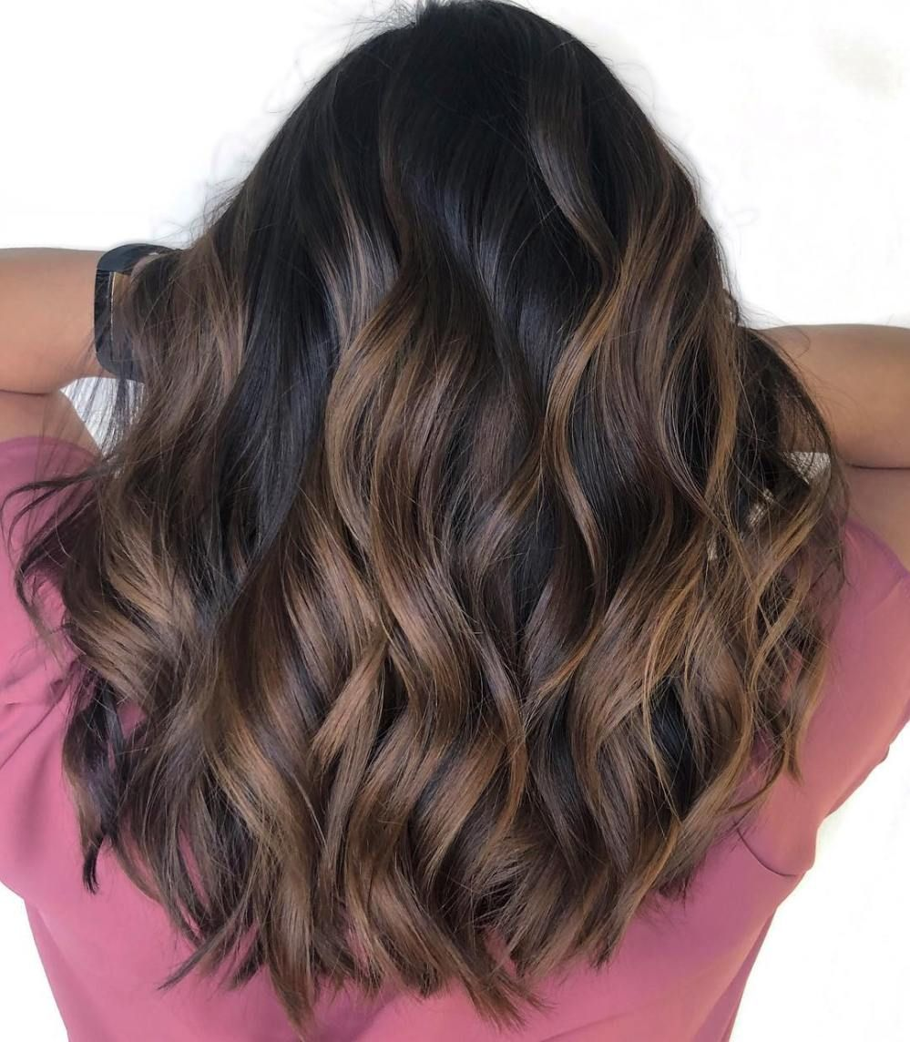 60 Hairstyles Featuring Dark Brown Hair With Highlights In