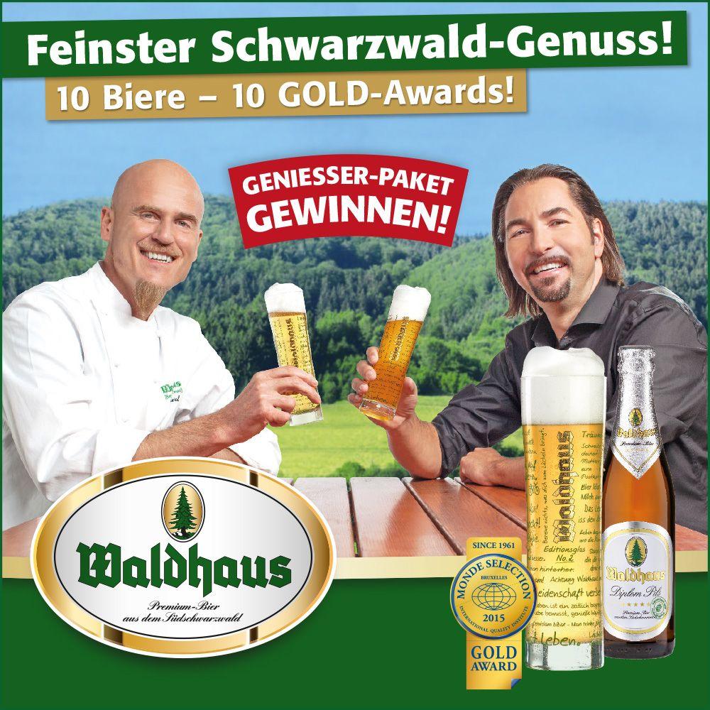 Jetzt Mit Etwas Gluck Auf Www Waldhaus Bier De Ein Geniesser Paket Mit Dem Editionsglas No 2 Gewinnen Waldhaus Paket Bier
