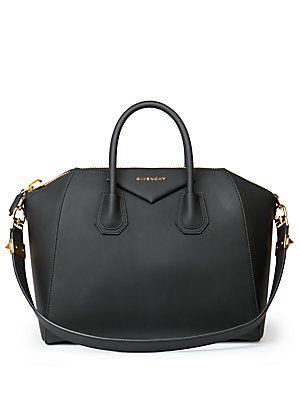Givenchy Antigona Medium Faux-Leather Satchel   Designer Vegan Bags ... 1709fb8e78