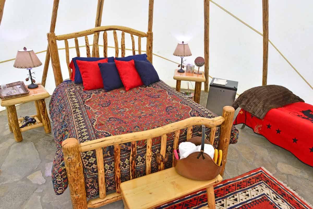Cwbbb Lone Star Teepee Wood Beds Colorado Yurt Company Teepee
