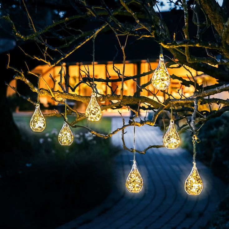 Glow drops - Outdoor Christmas Decorations - Sunset Balkon
