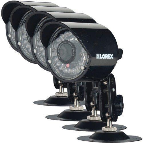 Lorex 4-Pack High Resolution Security Camera CVC7575PK4B by