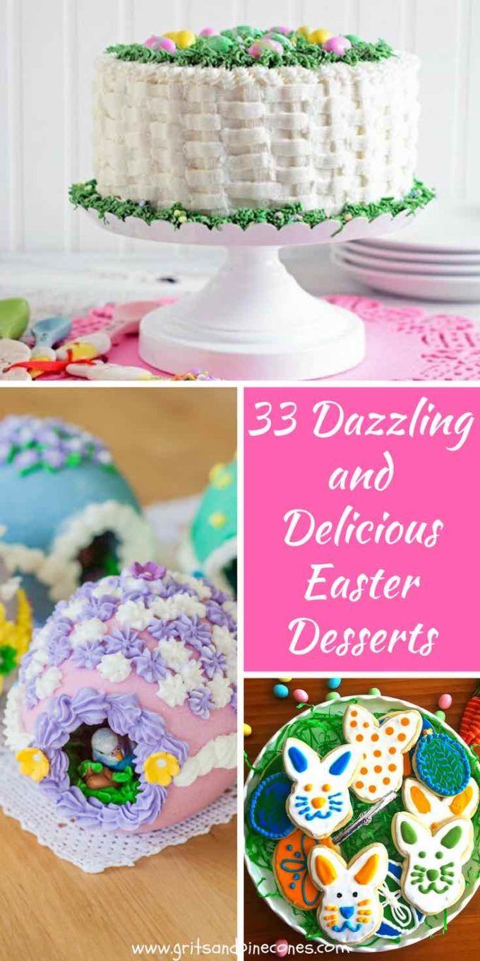 33 Dazzling and Delicious Easter Desserts -   17 easter desserts For A Crowd ideas