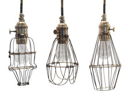 Workshop Cage Lights Con Immagini Lampade Illuminazione
