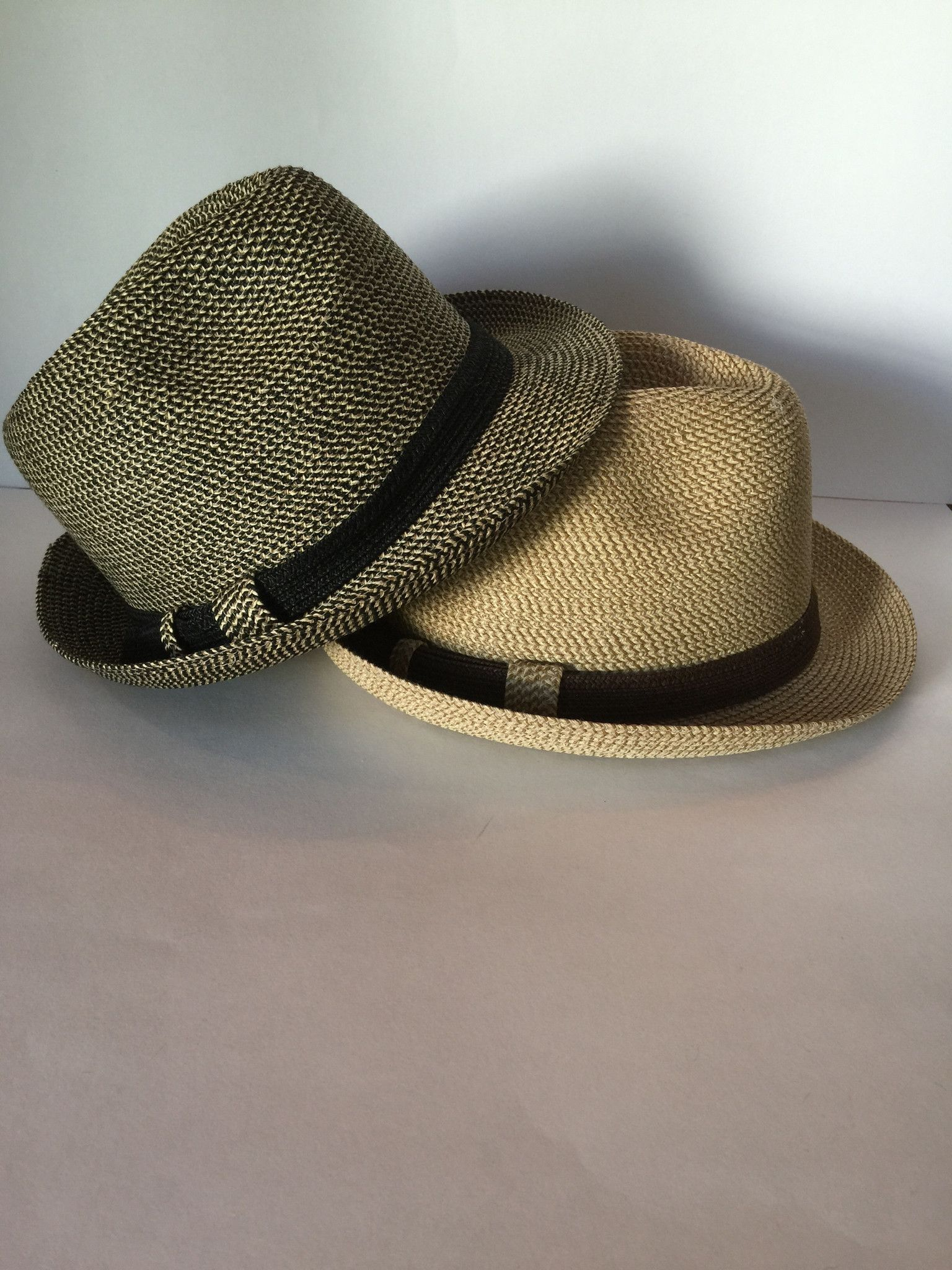 de553ac74f7 Women or teen choice of Black or Tan Tweed fedora with SPF 50 ...