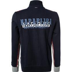 Napapijri Sweatjacke Herren, Baumwolle, blau Napapijri #hairandbeardstyles