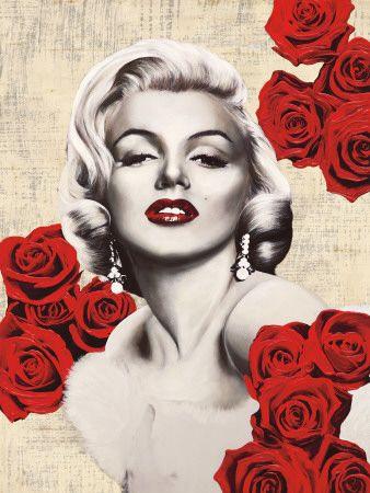Beautiful Marilyn Monroe Photo Poster Poster Wall Prints Music Star Art Pinup