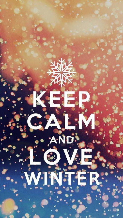 Imagen De Snow Christmas And Keep Calm Fondo De Pantalla Winter Wallpaper Desktop Iphone Wallpaper Winter Winter Wallpaper
