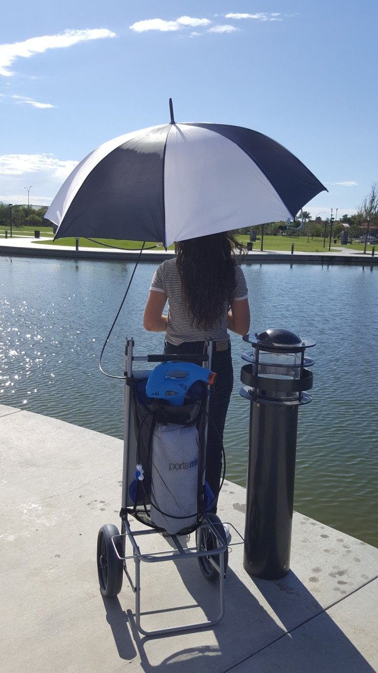 By The Lake You Will Need A Portable Outdoor Cooling System