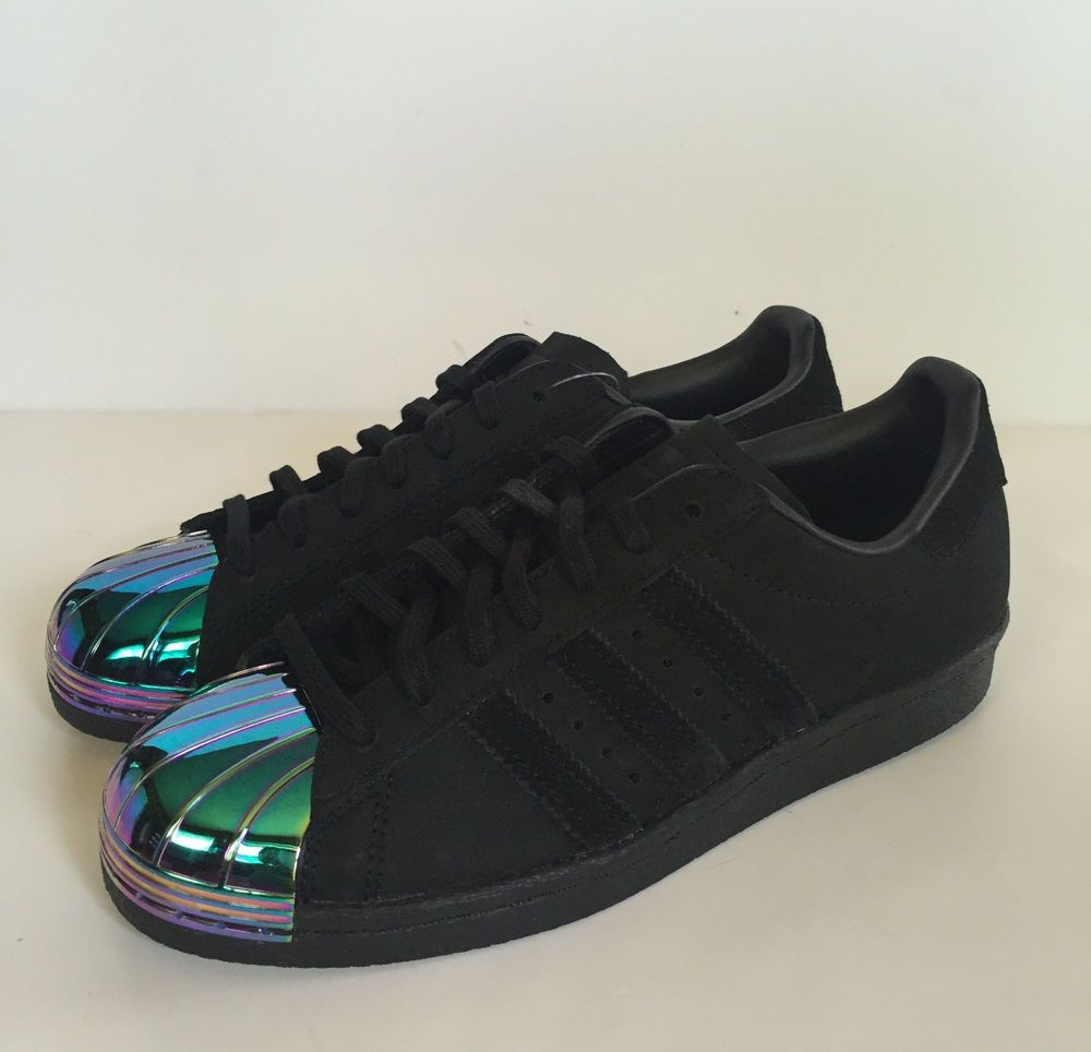 Miedo a morir plátano personalizado  ADIDAS Women's Superstar Originals 80's Metal Shell Toe Shoes Sneakers  Black | Adidas superstar metal toe, Adidas outfit shoes, Adidas superstar  women