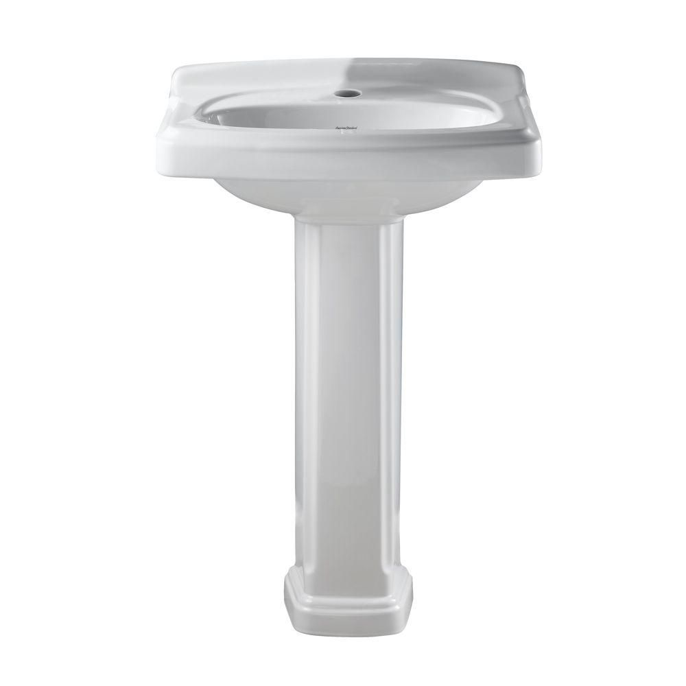American Standard Portsmouth Pedestal Combo Bathroom Sink with ...