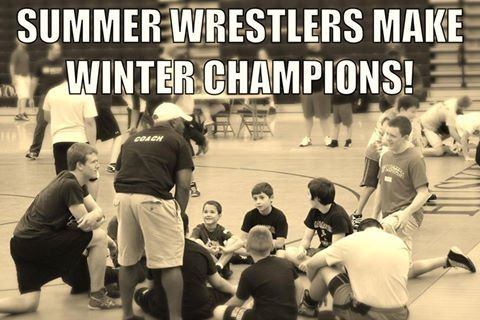 Image result for summer wrestling makes winter champions