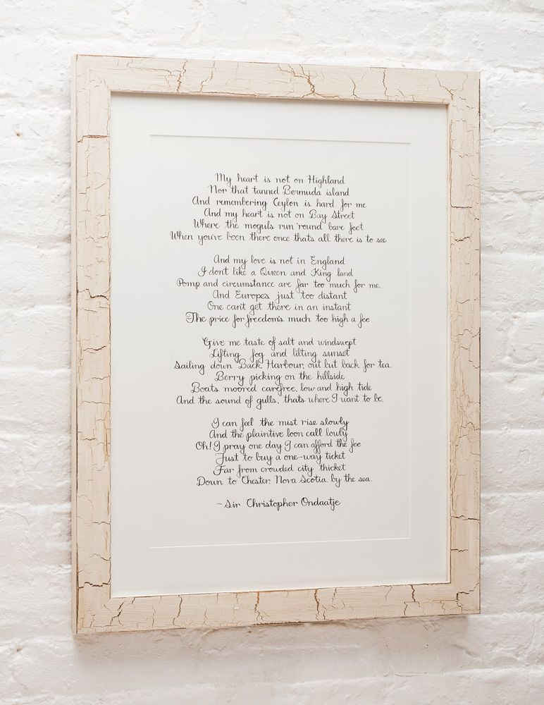 This poem by Sir Christopher Ondaatje titled Daydream, is a tribute ...