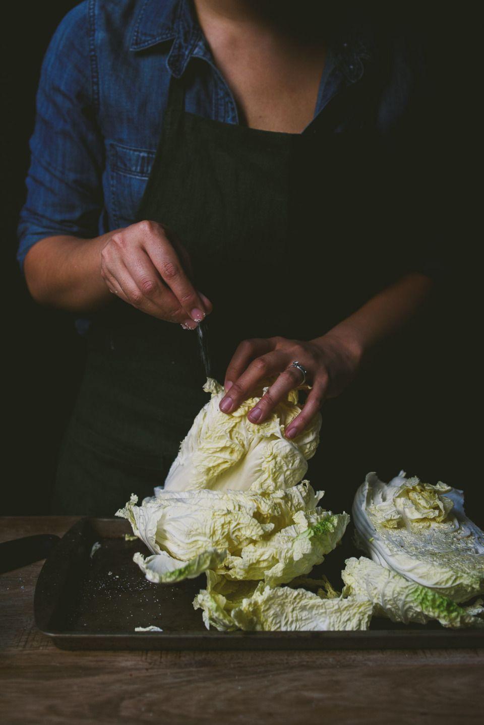 Homemade baechoo kimchi and bossam best food photography