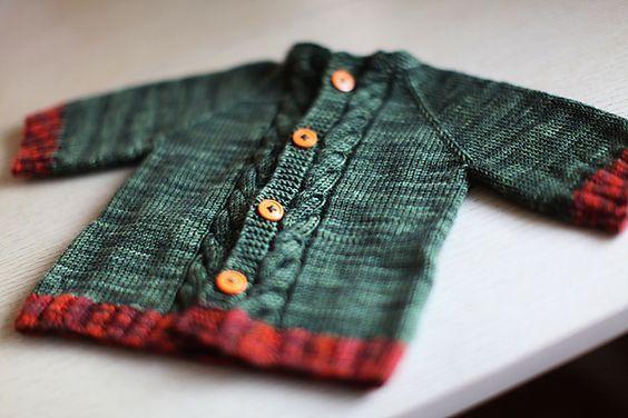 Baby Knits - Free Patterns | Pinterest | Cardigan Pattern, Baby ...