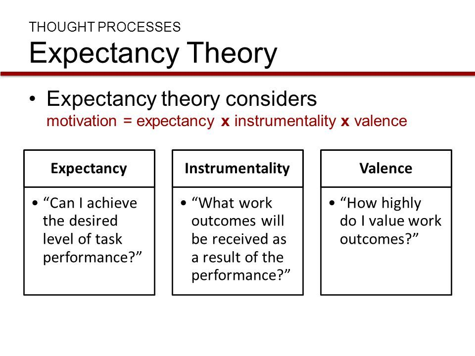 expectancy theory essay