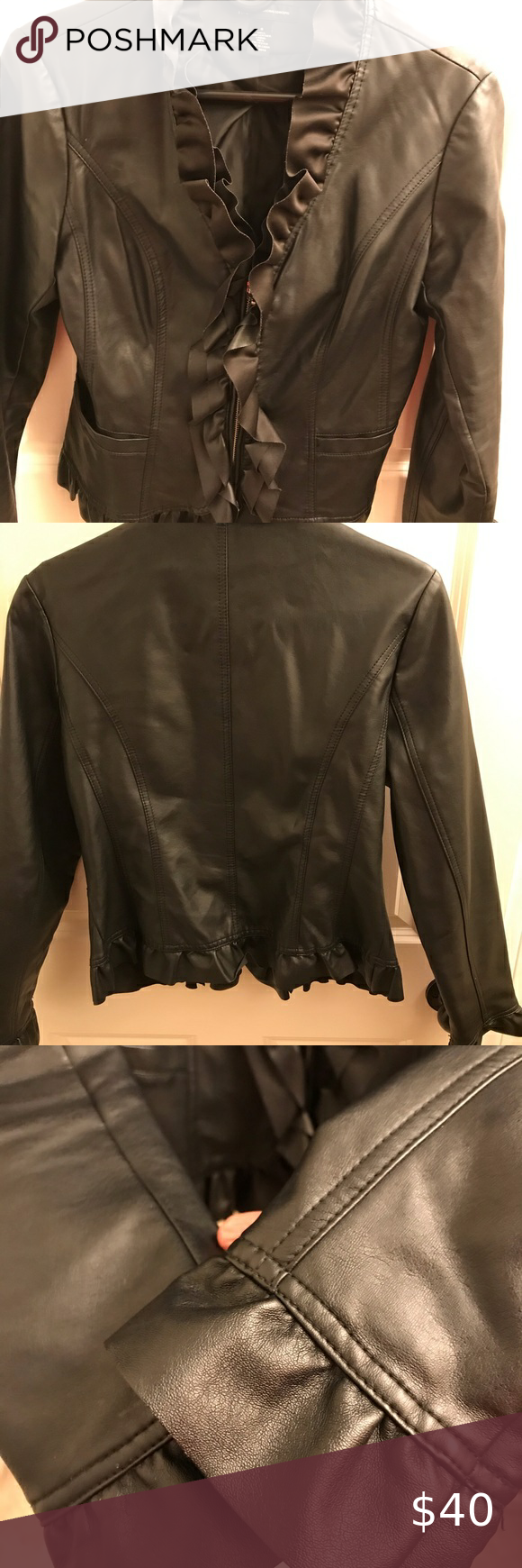 Inc Black Faux Leather Jacket Black Faux Leather Jacket Black Floral Bomber Jacket Faux Leather Jackets [ 1740 x 580 Pixel ]