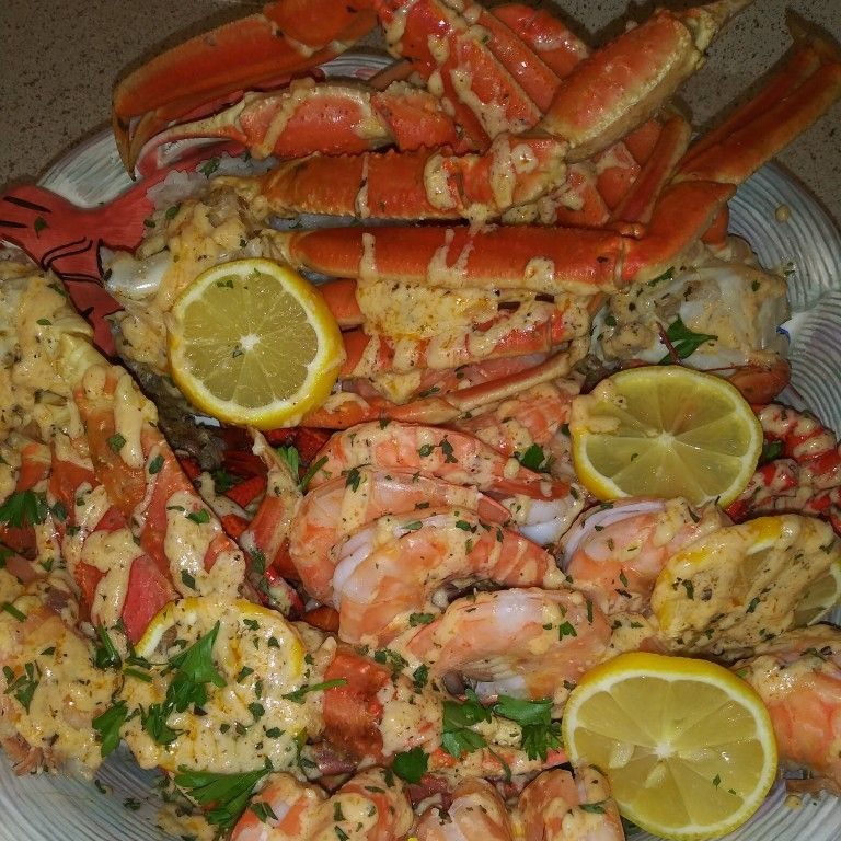 Garlic butter seafood boil cooking seafood boil seafood