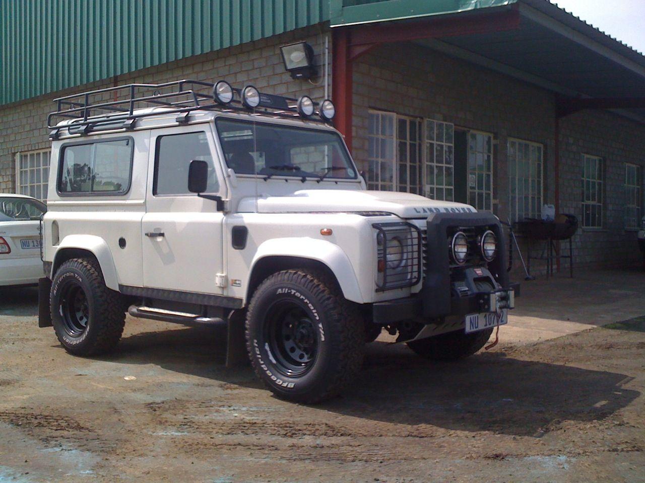 Land Rover Norwood >> Defender with 20mm offset black modular wheels | the bigger the better! | Black wheels, Land ...