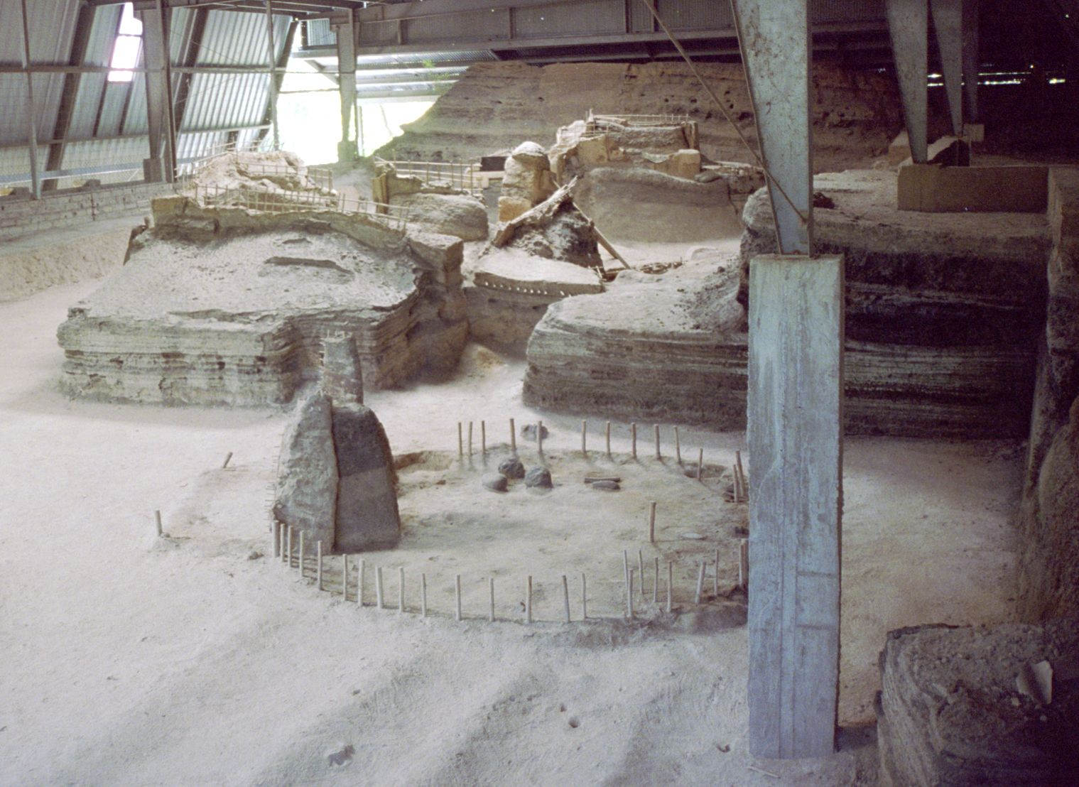 Joya de Cerén, El Salvador. Maya archaeology.