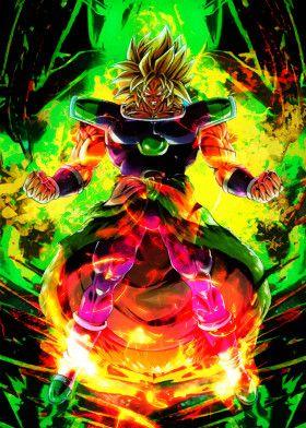 Legendary Super Berserk | Displate thumbnail