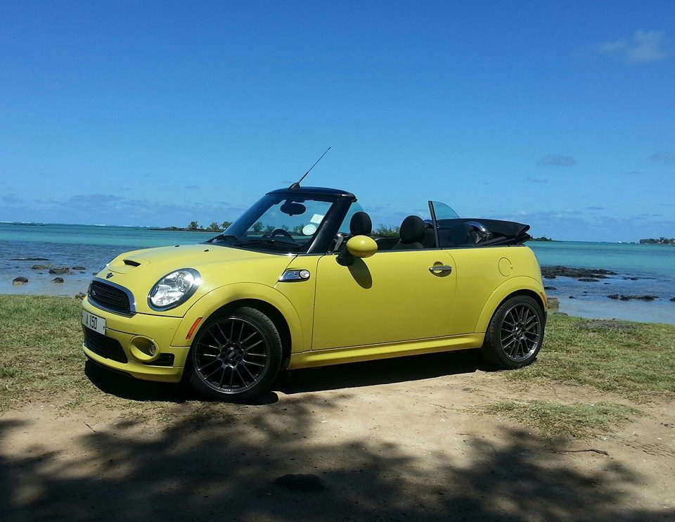 The mini cooper s works convertible is a great car for you for Cooper rentals