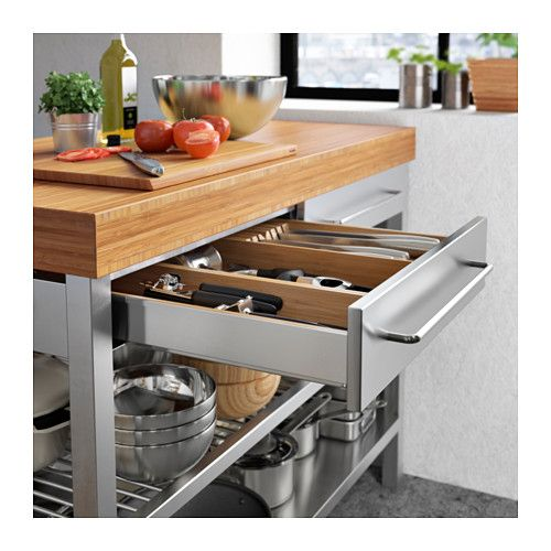 IKEA RIMFORSA work bench Gives you extra storage, utility and work ...