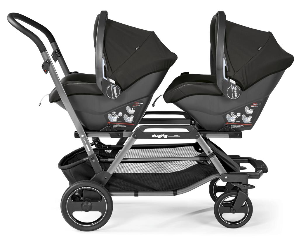 Twinstrollerduette2carseatt Twin strollers