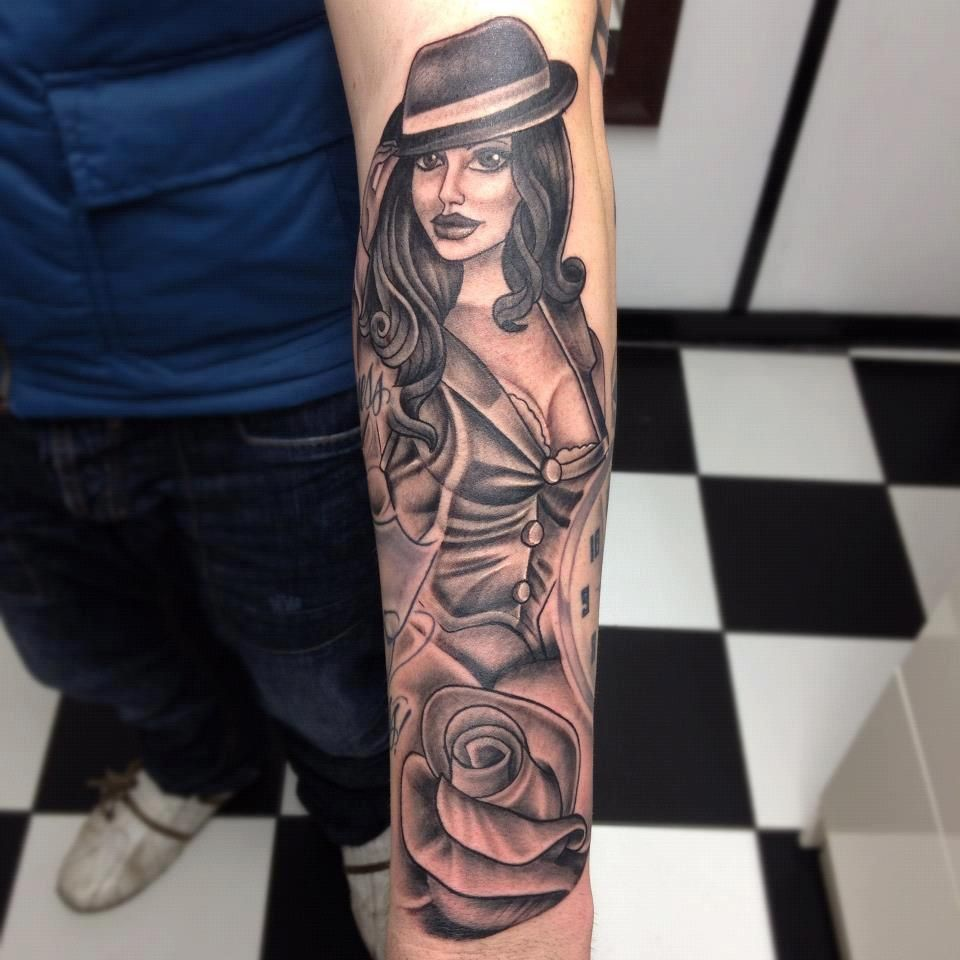 Download Image Gangster Pin Up Girl Tattoos Pc Android Iphone And